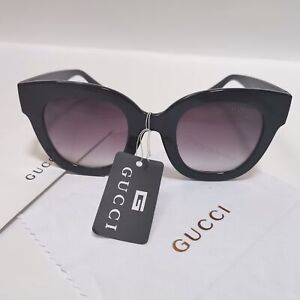 Gucci sunglasses GG 0208s black gray gradient