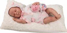 Berbesa - Muñeca bebé Reborn realista, vestido pelele 50 cm (5301)