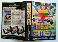 Jaquette MEGA GAMES 1 Sega Couverture cover