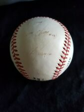 Rawlings Official Ball National League WD White Pres faded signature