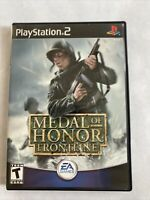 Medal of Honor: Frontline (PS2, 2002) CIB W/ Manual Amazing Condition