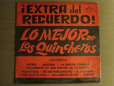 LOS QUINCHEROS EXTRA DEL RECUERDO LO MEJOR DE LP '66 RCA CML 2337 LATIN FOLK