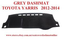 DASH MAT, DASHMAT,DASHBOARD COVER FIT TOYOTA YARRIS  2012-2014, GREY