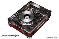 Skin Decal Wrap for PIONEER DVJX1 DJ Mixer CD Pro Audio DVJ X1 Part - BONES BLK