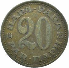 COIN / YUGOSLAVIA / 20 PARA 1975  #WT17330