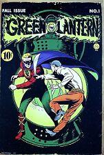 Green Lantern Comic Cover metal sign    (hb)