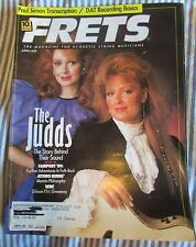 Frets  Frets Magazine April 1989 The Judds The Story Behind Their Sound & More!