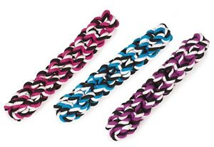 """Rope Stick Dog Toys Tough Durable Dental Chew 10"""" Long Choose Blue or Purple"""