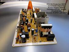 HITACHI Projector HDTV 53FDX01B V0J15701 Power Supply DP051 PW0404 0012EC