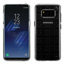Glassy Transparent SPOTS Candy Skin Phone Case for Samsung Galaxy S8 Plus S8+