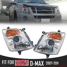 LH RH Projector Headlight lamp Isuzu Dmax D-Max Corolado Holden Rodeo 2007-2011