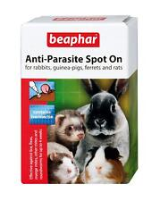 BEAPHAR ANTI PARASITE SPOT ON FLEA TREATMENT FOR RABBITS GUINEA PIGS & FERRETS