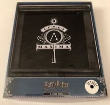 PRIMARK HARRY POTTER LUMOS MAXIMA QUOTE LED LIGHT BOX - Brand New In Box