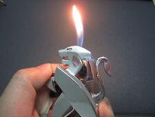 Lion-design-metal-butane-lighter-Auto-dongfeng-sign-cool-gift-rare  Lion-design