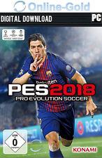 PES 18 Pro Evolution Soccer 2018 - PC Standard Key - Steam Download Code [EU/DE]