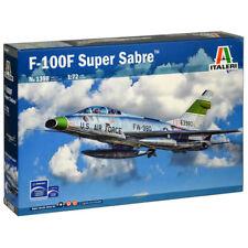 ITALERI F-100F SUPER SABRE KIT MODELLO 1:72 AEREI