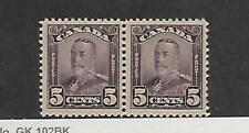 Canada, Affrancatura Francobollo, #153 Paio come Nuovo Nh , 1928, Jfz