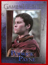 GAME OF THRONES - Season 4 - Card #61 - PODRICK PAYNE - Rittenhouse 2015