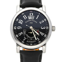 Schwarz Etienne Roma Power Reserve Steel Auto Mens Watch WRO03AE01SS02AAA