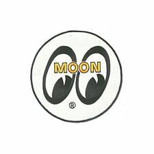 Mooneyes Eyeshade Eyeball Moon Equipped Aufnäher Patch Cruising NASCAR Pennzoil