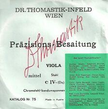 DR. Thomastik - Infeld Wien - Corde à l'unité Violon Alto - C IV Do