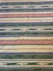 Ralph Lauren Full Queen  duvet Cover Desert Spring Aztec Southwest green rust