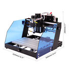 CNC 3020 Router Mini Laser Engraving Wood Cutting Engraver Machine 300*200mm USA