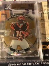 AJ Green 2011 Finest Atomic Rc Gold Refractor 7/50 Bgs 9.5