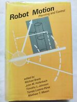 BOOK ROBOT MOTION PLANNING AND CONTROL BRADY HOLLERBACH JOHNSON 026202182X
