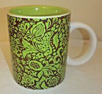 Cornucopia Coffee Mug Art Green Signature Housewares Inc. Room Creative 2005