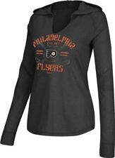 Philadelphia Flyers Ladies Hockey Stick Hooded Tee (XL)