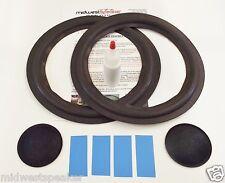 """Altec Model 891A 10"""" Woofer Refoam Kit Speaker Foam w/ Shims & Dust Caps!"""