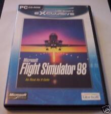 MICROSOFT FLIGHT SIMULATOR 98 gioco pc originale ITA