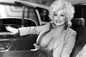 Gorgeous Dolly Parton Sexy Young Cleavage 4x6 photograph SEXY!! #2