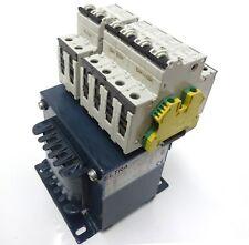 ELTRA NT 0,5-2-SA Trenn-Transformator Pri 450V Sec 230V 500VA 5SY41 MCB C2 C6