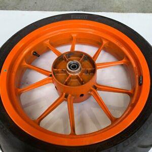 KTM Duke 390 2014 Rear wheel rim *damage to tyre 9021000104404