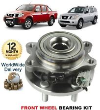 FOR NISSAN NAVARA D40 PATHFINDER 2005> FRONT WHEEL BEARING KIT + ABS SENSOR +NUT