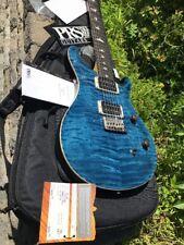 PRS Paul Reed Smith CE24 Doublecut Bird Inlays Electric Guitar Whale Blue w/ Bag