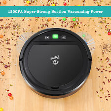 Robot Vacuum Cleaner Automatic Mop Cleaner with Powerful Suction Floors & Carpet