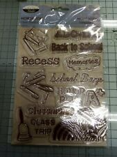 Heirloom Clear Stamps School Theme