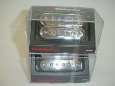 DIMARZIO DP158 & DP159 Evolution Neck & Bridge Pickup SET CHROME CAPS REG SPACED