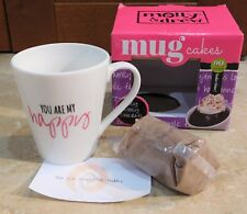 1121  Molly & Drew Mug Cakes YOU ARE MY HAPPY and Chocolate Cake Mix