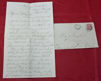CANADA CAYUGA GRAND RIVER ONT SEPTEMBER 5 1910 COVER LETTER INSIDE TO ALBANY NY