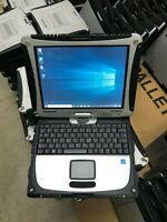 Panasonic Toughbook CF-19 MK6  120 SSD 8GB i5  2.60GHz   TOUCH  WIN10
