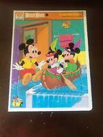 Whitman Vintage Disney Mickey Mouse Frame Tray Puzzle