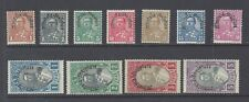 "ALBANIA 1928 ""Kingdom of Albania"" overprints set of 8 M.N.H.*  SG 248/258"