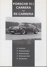 PORSCHE 911 964 993 996 CARRERA RS / RS TOURING / CARRERA 2 4 '73- ROADTEST BOOK
