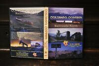 Northern Colorado UP D&RGW BN Great Western WYCO Railroad DVD