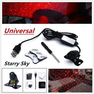 Red Car Star LED Romantic Decoration Light Inside Rooftop Ceiling Projector Lamp