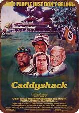 """Caddyshack Movie Rustic Retro Metal Sign 8"""" x 12"""""""
